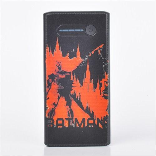 Thrumm Lisanslı Power Bank Batman Red City Slim 12000Mah