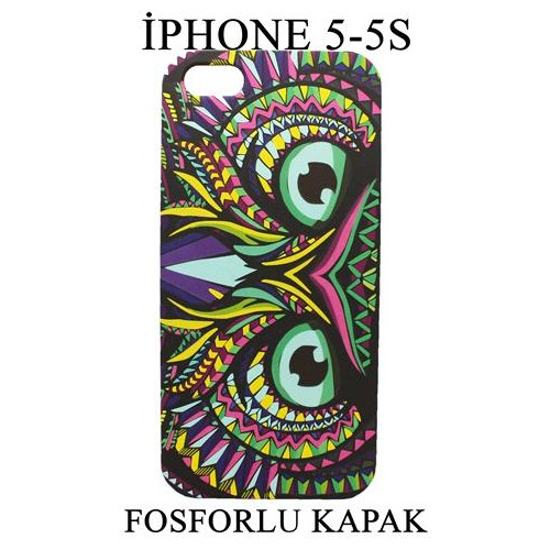 Markacase Apple İphone 5-5S Fosforlu Arka Kılıf