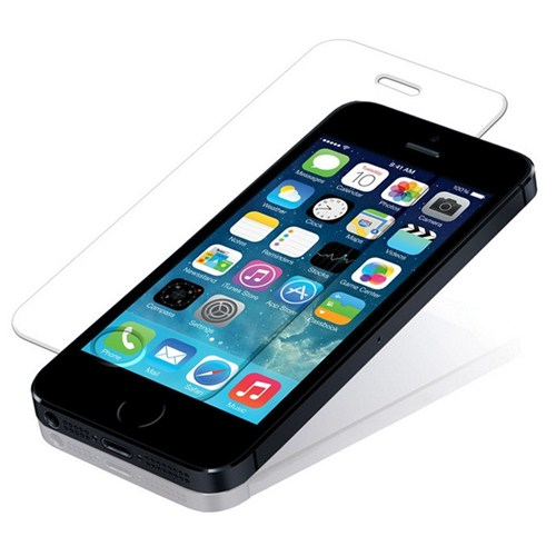 CoverZone İphone 5S Temperli Cam Filmi