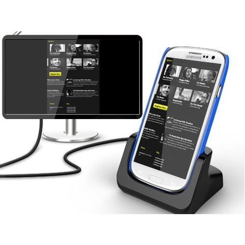 CoverZone Kidigi Samsung Galaxy S3 Masaüstü Şarj Ve Hdmı Çıkış