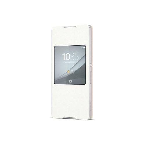 Sony Xperia Z3+ Kılıf Beyaz SCR30