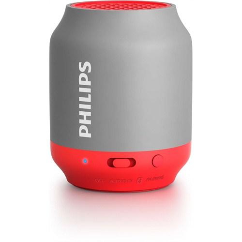 Philips BT50G/00 Taşınabilir Kablosuz Bluetooth Hoparlör Gri