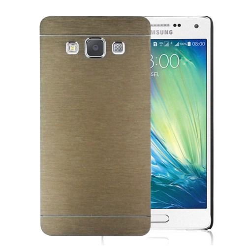 Microsonic Samsung Galaxy E7 Kılıf Hybrid Metal Gold
