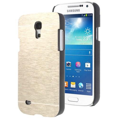 Microsonic Samsung Galaxy S4 Mini Kılıf Hybrid Metal Gold