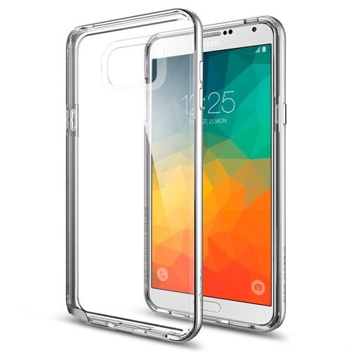 Spigen Samsung Galaxy Note 5 Kılıf Neo Hybrid Crystal Satin Silver - SGP11713