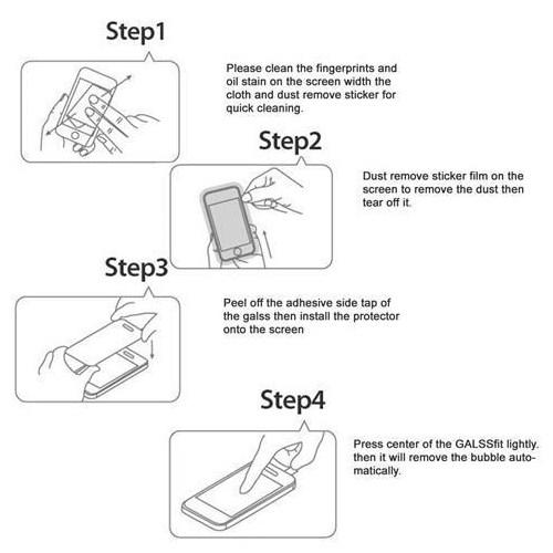 Markacase Sony Xperıa Z4 Tempered Kırılmaz Cam Ön Ve Arka