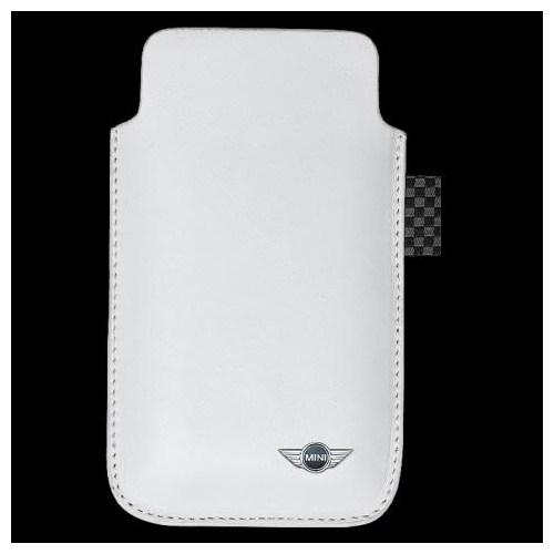 Mini Sleave İphone 4/4S Deri Kılıf (Beyaz)