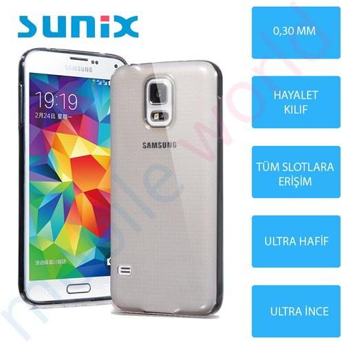 Sunix Samsung Galaxy J1 Cam Ekran Koruyucu + Ultra İnce Silikon Kapak Füme