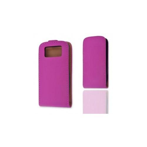 Ally Nokia E71 Siyah Kapaklı Kılıf