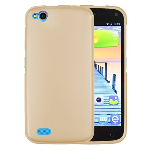 Microsonic General Mobile Discovery Kılıf Transparent Soft Gold