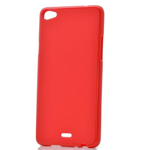 Case 4U Casper Via V10 Soft Silikon Kılıf Kırmızı
