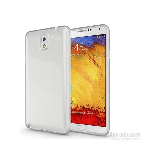 CaseCrown Samsung Galaxy Note 4 Ultra İnce Silikon Kılıf Şeffaf