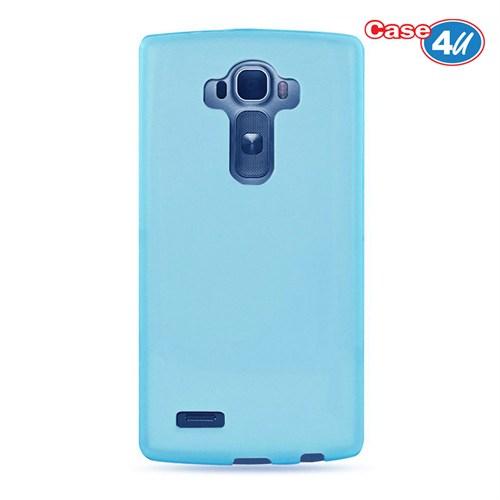 Case 4U Lg G Flex 2 Ultra İnce Silikon Kılıf Mavi