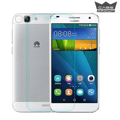 CaseCrown Huawei Ascend G7 Kırılmaz &Çizilmez Cam Ekran Koruyucu