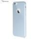 Case Leap İphone 6/6S Plus Tam Korumalı İnce Rubber Kılıf Gümüş