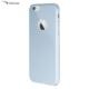 Case Leap İphone 6/6S Tam Korumalı İnce Rubber Kılıf Gümüş