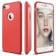 Elago iPhone 7 Slim Fit Soft Kılıf Silikon Tam Koruma Kırmızı