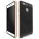 Case 4U Huawei P9 Hybrid Korumalı İnce Arka Kapak Altın
