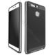 Case 4U Huawei P9 Hybrid Korumalı İnce Arka Kapak Gümüş