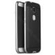 Case 4U Huawei Ascend G8 Hybrid Korumalı İnce Arka Kapak Gümüş
