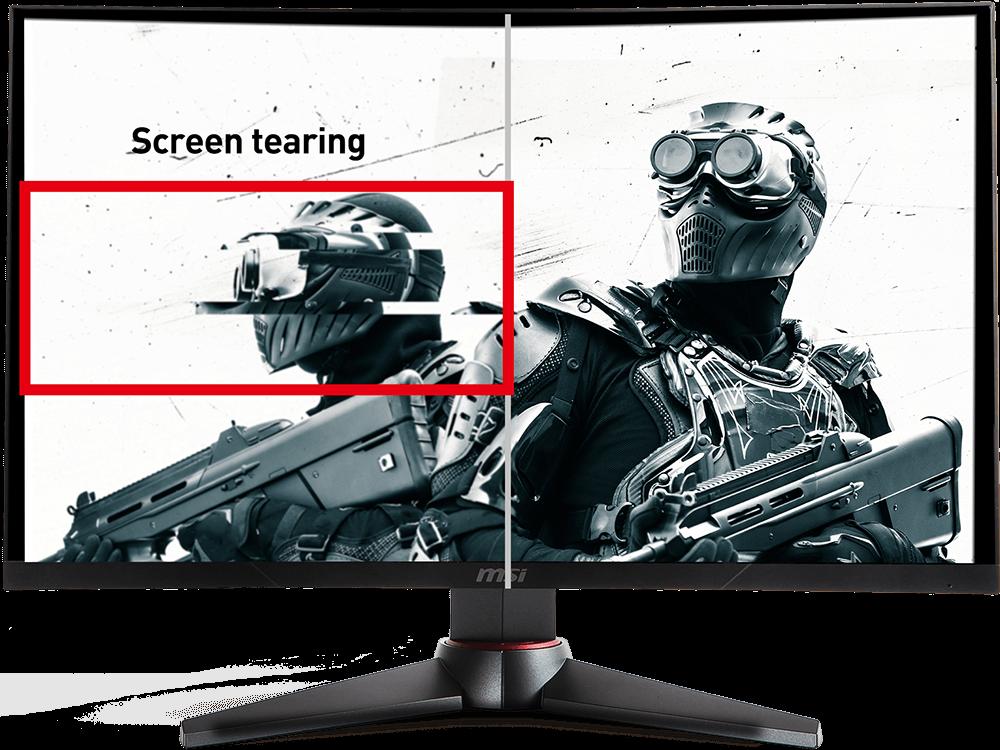 MSI Optix MAG32CQ screen tearing
