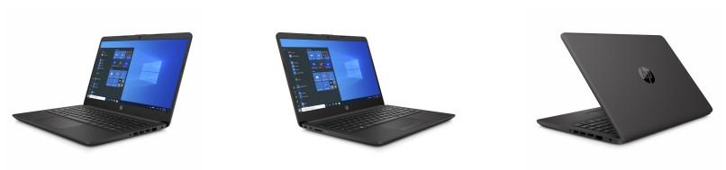HP 240 G8 i5-1035G1 dizüstü bilgisayar ve farklý açýlardan fotoðrafý