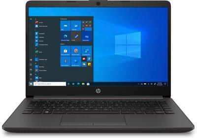 HP 240 G8 i5-1035G1 dizüstü bilgisayar laptop ön görüntüsü klavye mouse ekran