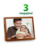 3-megapixel snapshots