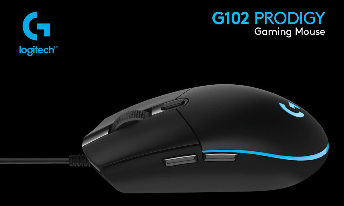 Logitech G102 Prodigy Oyuncu Faresi - Mouse