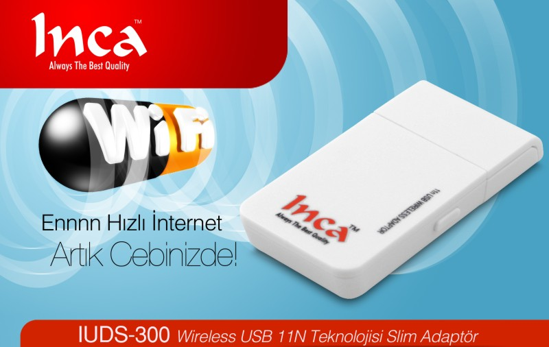 INCA WIRELESS ADAPTR IUDS-300 DRIVER UPDATE