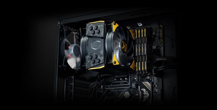 Cooler Master MasterAir MA410M TUF Edition 2x120mm RGB Led Fiyatı