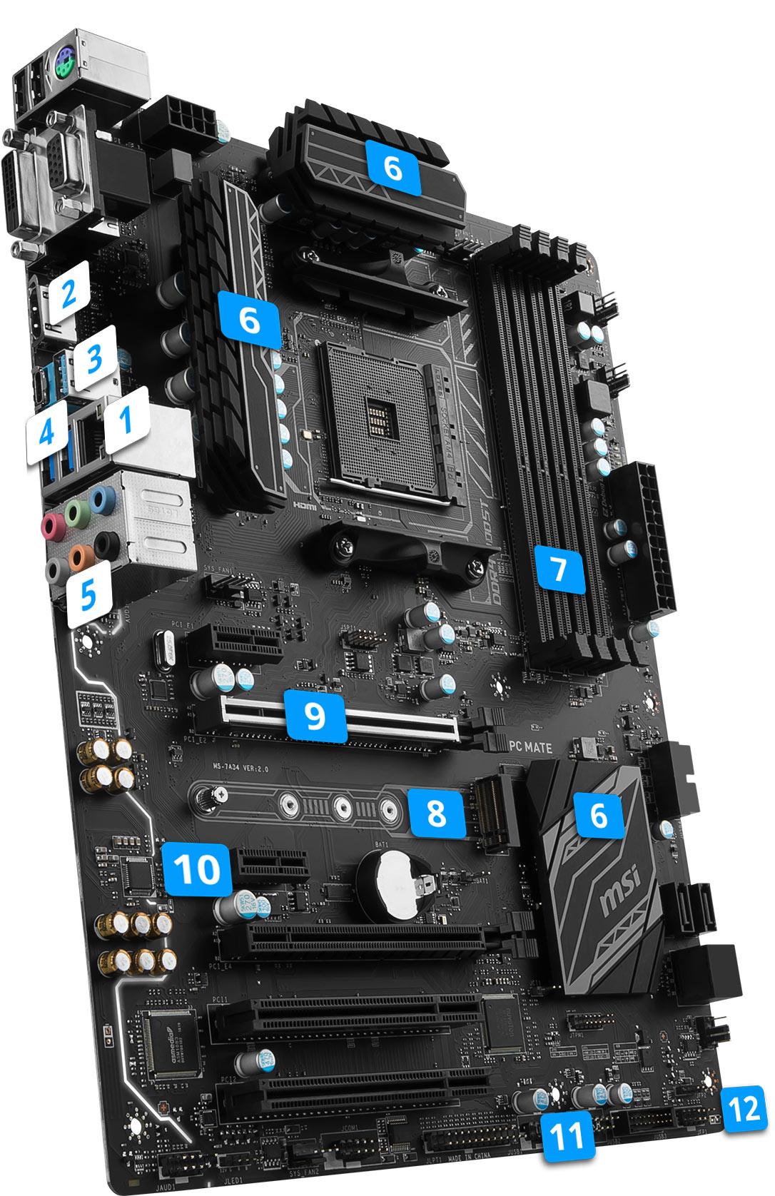 MSI X370 SLI Plus overview