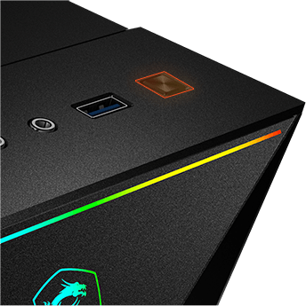 MSI LED effects control Button