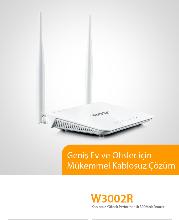 W3002R Wireless N300 High Power Router
