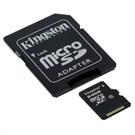 Kingston 64GB Class10 microSDXC Hafıza Kartı SDCX10/64GB