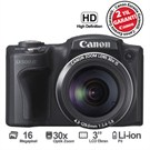 "Canon Powershot SX500 16 MP 30x Optik Zoom 3"" LCD HD Video Dijital Fotoğraf Makinesi"