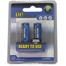 Digital Power DP-3000 2xAA 3000 mAh Şarj Edilebilir Pil