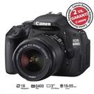 Canon Eos 600D 18-55mm SLR Dijital Fotoğraf Makinesi