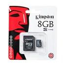 Kingston 8 GB Class 4 MicroSDHC Hafıza Kartı SDC4/8GB