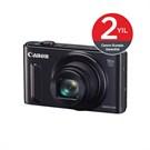 Canon PowerShot SX610HS 20.2 MP 18x Optik Zoom Dijital Fotoğraf Makinesi Siyah