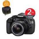Canon Eos 1200D 18-55 mm DC Kit DSLR Fotoğraf Makinesi (Orjinal Canon Çanta Hediyeli)