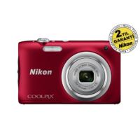 Nikon Coolpix A100 Red Dijital Kompakt Fotoğraf Makinesi