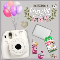 Fujifilm Instax Mini 8 Şipşak Makine 3'lü Kit Beyaz