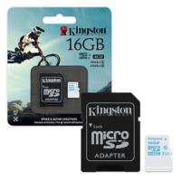 Kingston 16GB MicroSDHC Class 10 UHS-I 90/45MB/S SDCAC/16GB Hafıza Kartı
