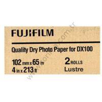 Fujifilm DX100 4''x213' Inkjet Fotoğraf Kağıdı Lustre (Mat) 2 Rulo