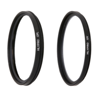 Nikon 18-200mm Lens için HLYPRO UV Filtre + Polarize Filtre