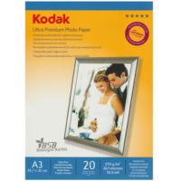 Kodak Ultra Premium Glossy,Parlak A3 270Gr/m² Fotoğraf Kağıdı 20 Yaprak