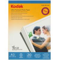 Kodak Ultra Premium Satin,Mat A3 270 Gr/m² Fotoğraf Kağıdı 20 Yaprak
