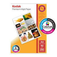 Kodak ColorLok 90gr Parlak İnkjet Fotokopi Kağıdı 250 Yaprak