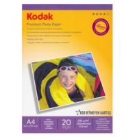Kodak Premium Glossy,Parlak A4 230Gr/m² Fotoğraf Kağıdı 20 Yaprak